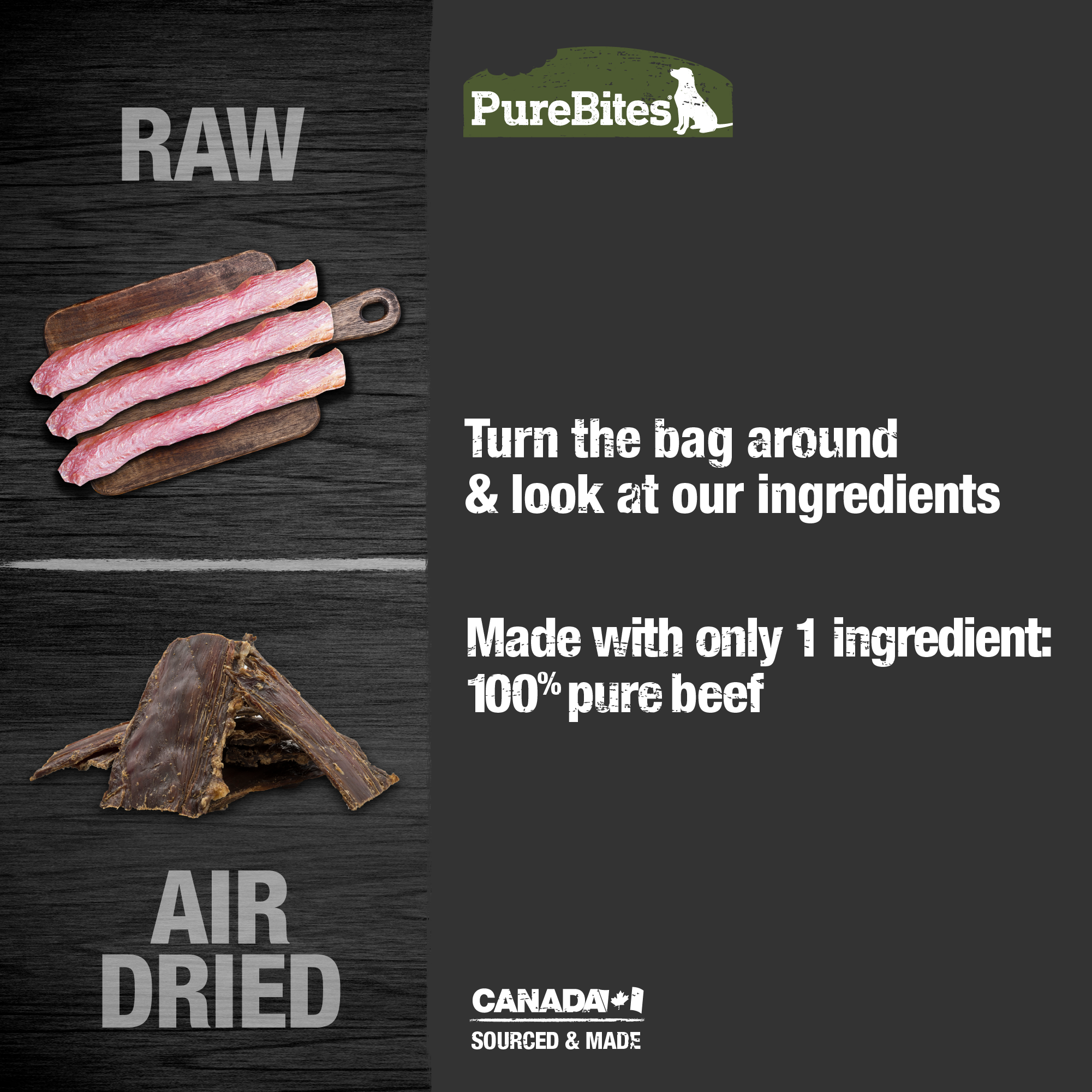 Gently Air Dried Beef Jerky