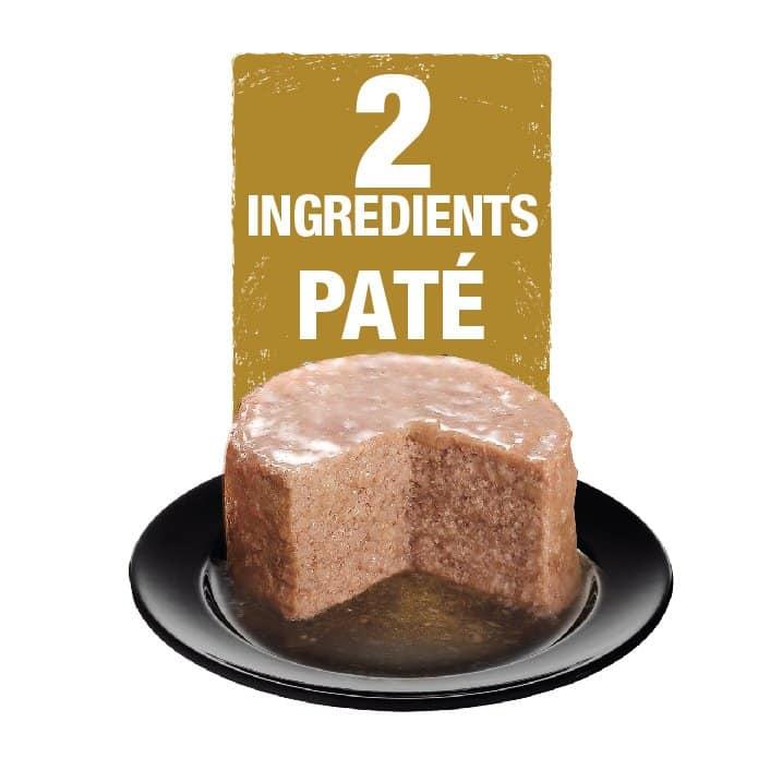 2 ingredient cat pate