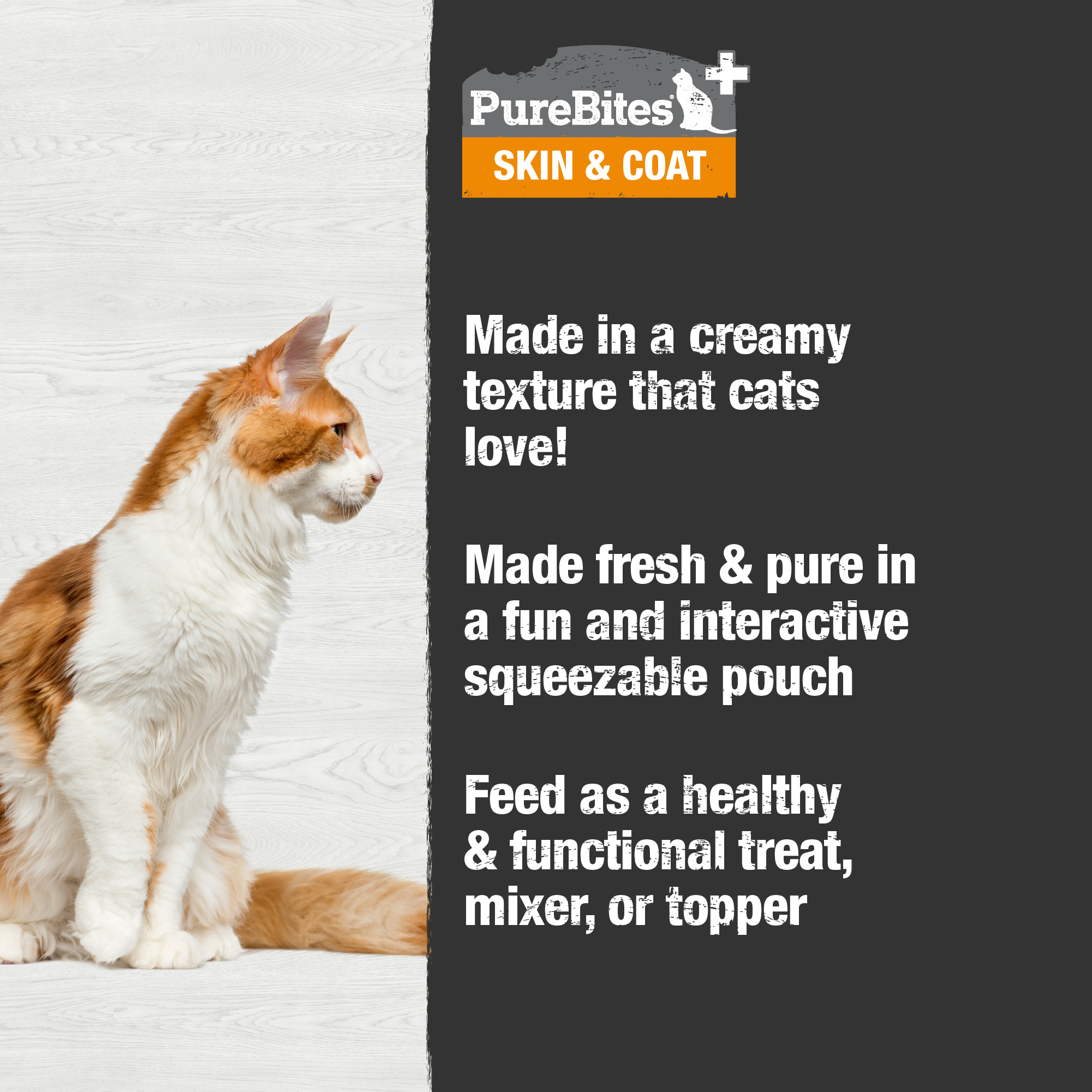 Squeezables Skin & Coat For Cats