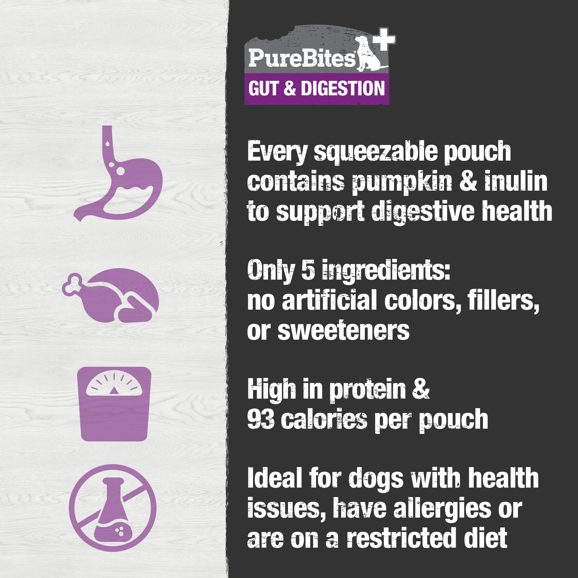 Squeezables Gut & Digestion For Dogs