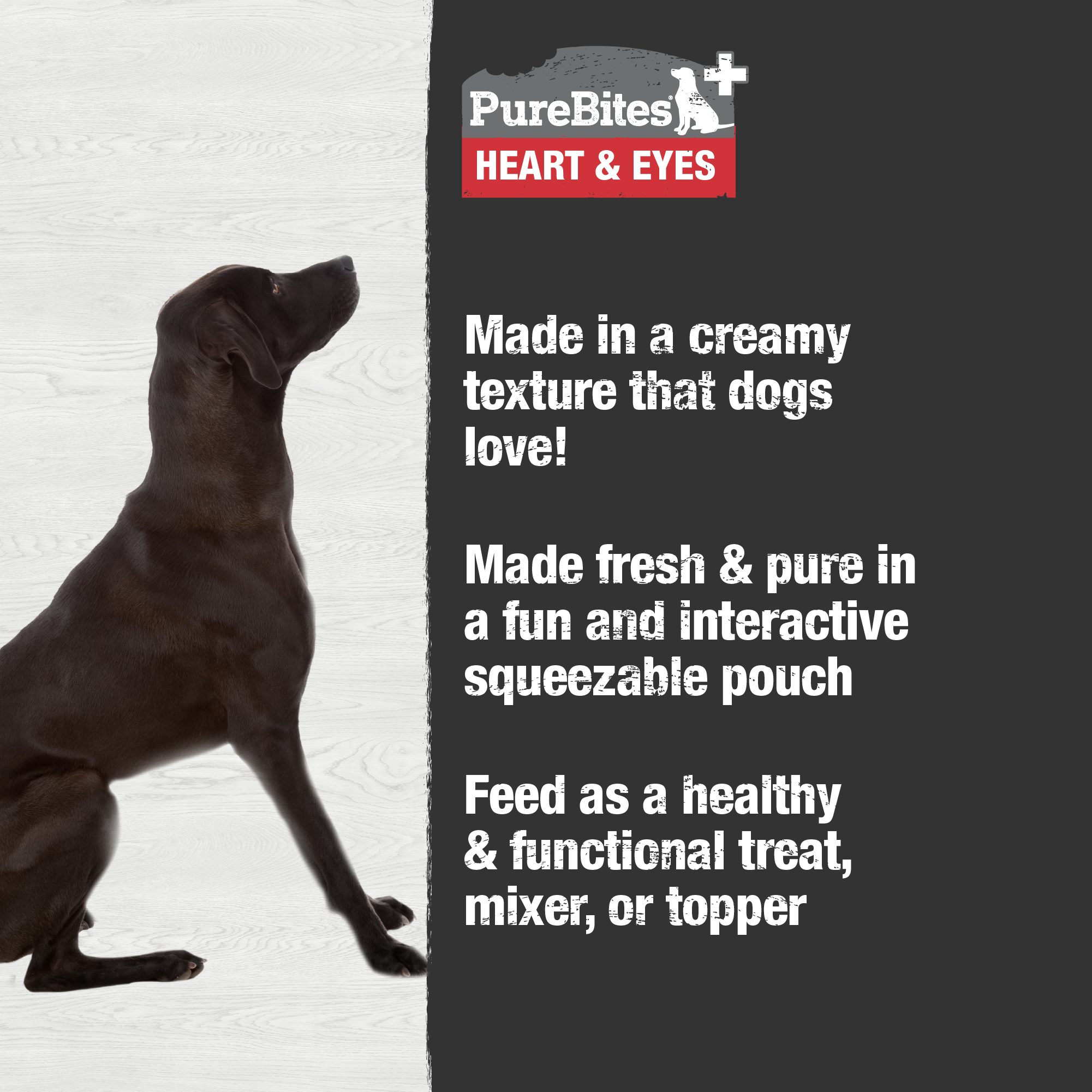 Squeezables Heart & Eyes For Dogs