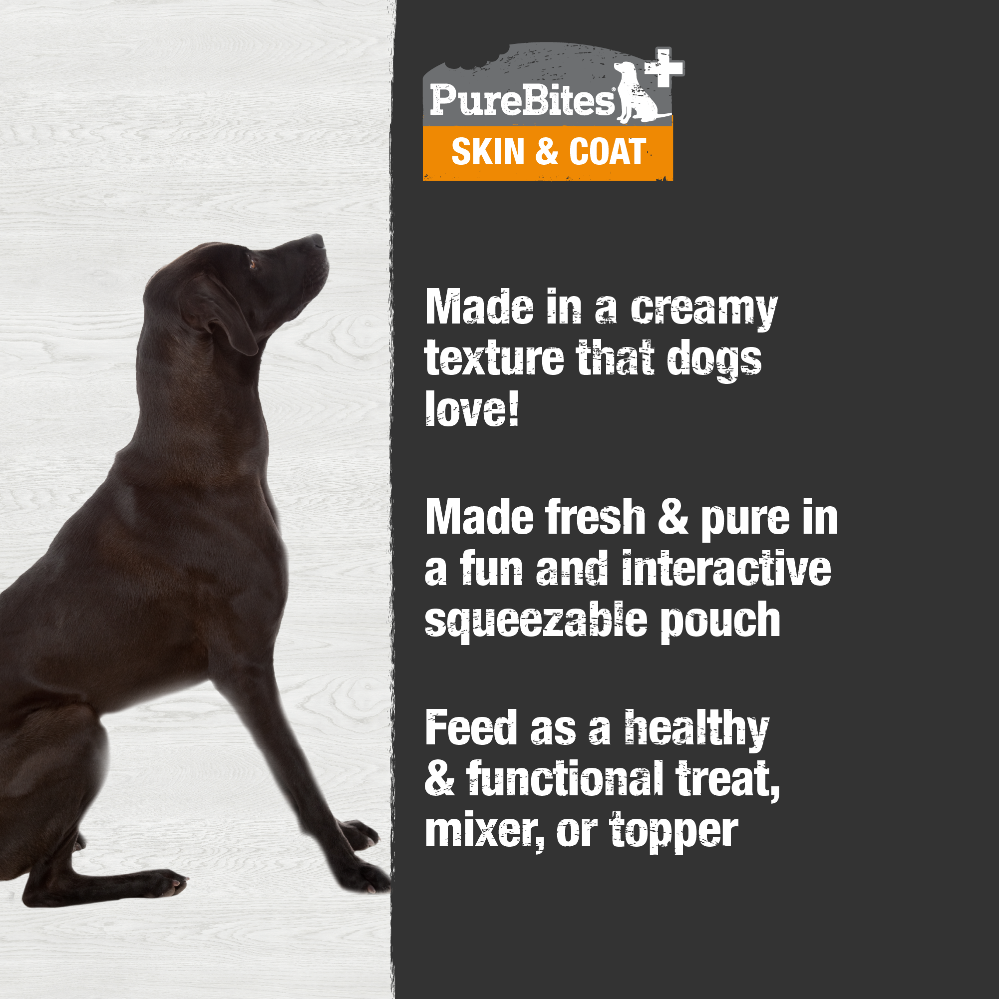 Squeezables Skin & Coat For Dogs